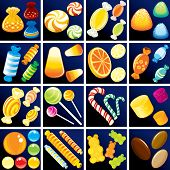 stock photo of jelly beans  - Sweet Goodies Confectionery  - JPG