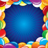 stock photo of happy birthday card  - Birthday card - JPG