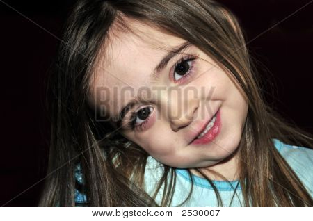 Girl With Perfect Smile