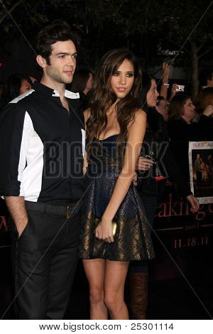 LOS ANGELES - NOV 14:  Ethan Peck, Kelsey Chow arrives at the