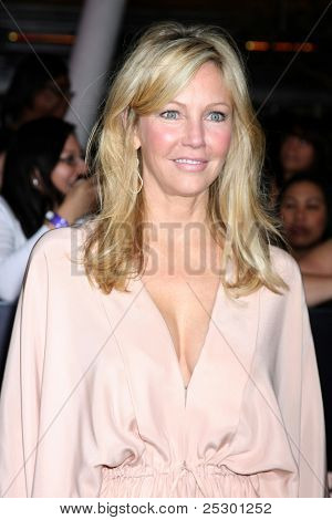 "LOS ANGELES - NOV 14:  Heather Locklear arrives at the ""Twilight: Breaking Dawn Part 1"" World Premiere at Nokia Theater at LA LIve on November 14, 2011 in Los Angeles, CA"
