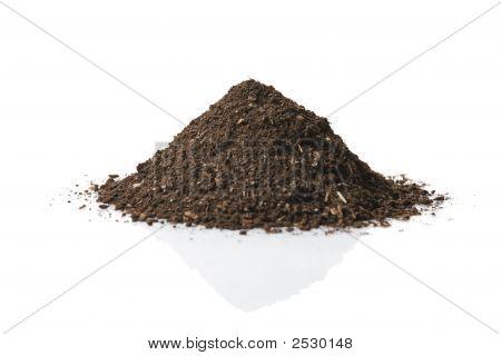 Pila de suelo