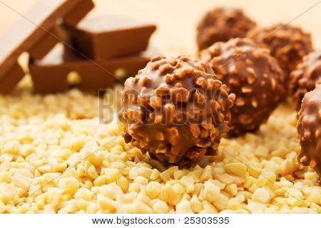 Chocolate Candy Balls