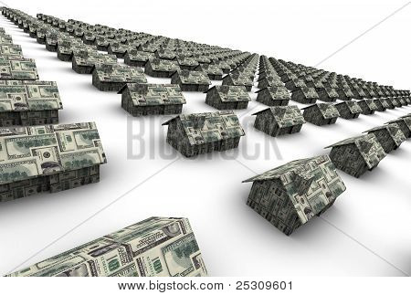 Houses Made Of Money