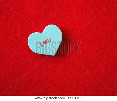 Conversation Heart - I Love You