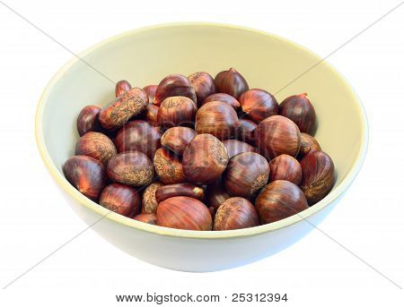 Bowl Of Sweet Chestnuts