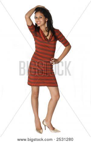 Atractive Young Woman Posing