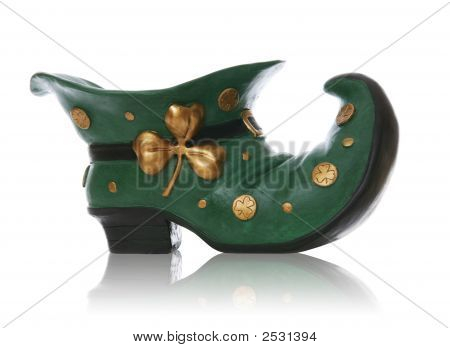 Saint Patricks Day Boot