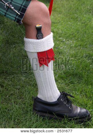 Dirk en calcetín