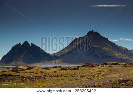 Vestrahorn Stockknes Mountain Range batman