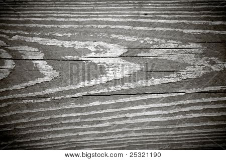 Black And White Woodgrain Texture