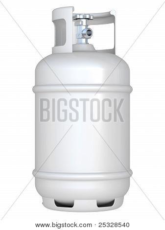 White Gas Balloon