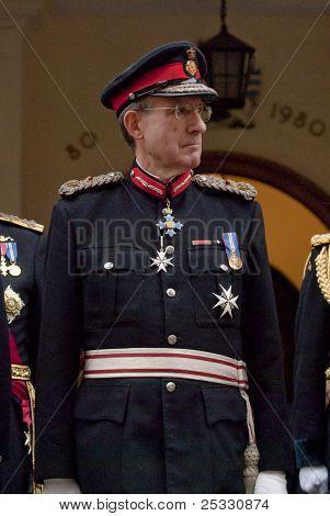 O Lorde-tenente da Devon, Eric dançarino