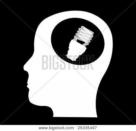 bulbs in head