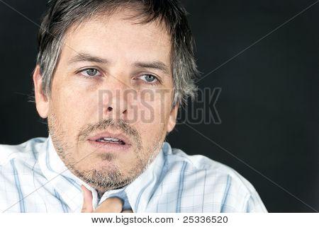 Man Feeling Unwell
