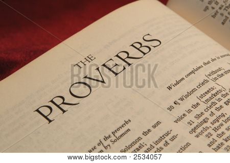 Books Of The Bible  Proverbs
