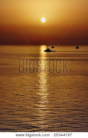 Seascape Basra Harbor