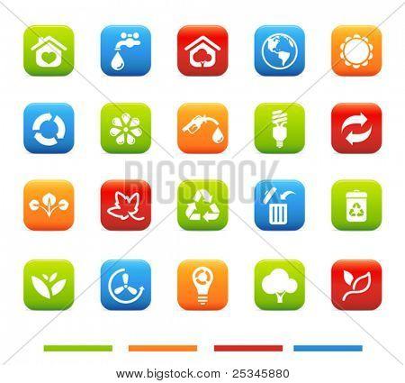 High quality  Environmental icons