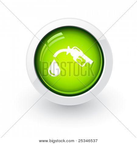Glossy bio fuel button
