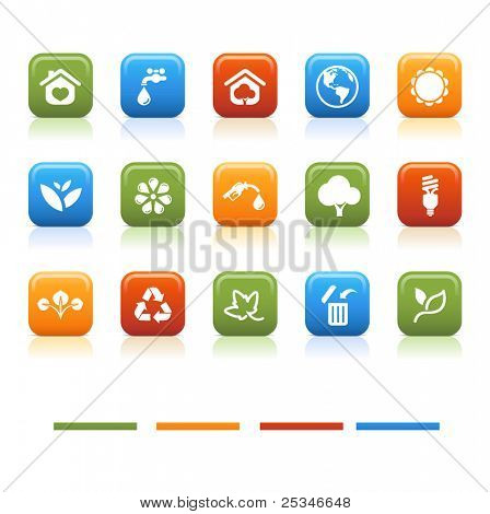 basic color icons, eco # 2