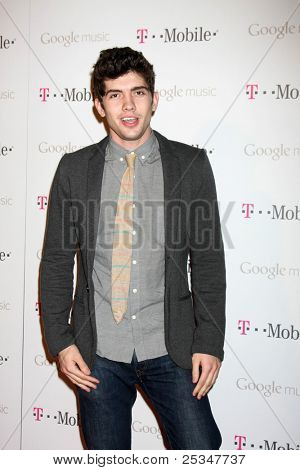 LOS ANGELES - NOV 16:  Carter Jenkins arrives at the Google Music Launch at Mr. Brainwash Studio on November 16, 2011 in Los Angeles, CA