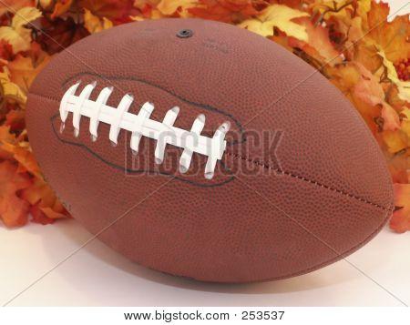 Football & Leaves
