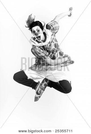 Monochrome Clown