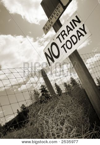 No Train Today