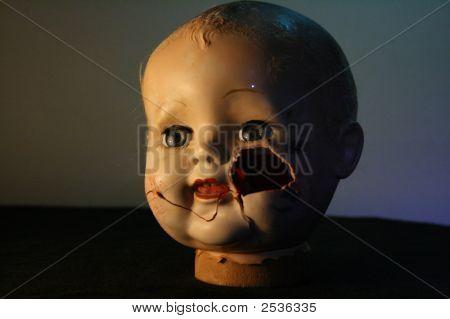 Scary Doll'S Head