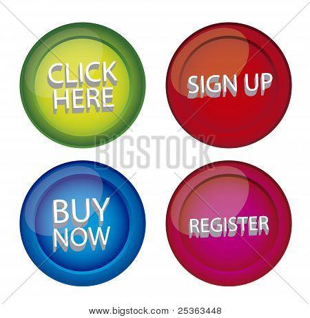 buttons web