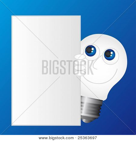 electric bulb cartoon