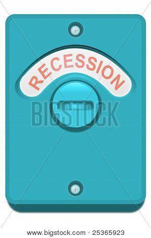 Recession Concept.