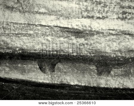 Textura carbón sobre papel.Fondo con carbón de leña de hecho a mano
