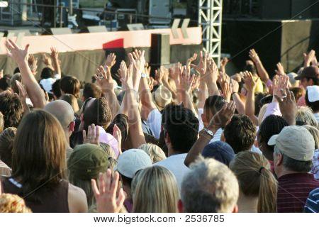 Hands Raised High Concert