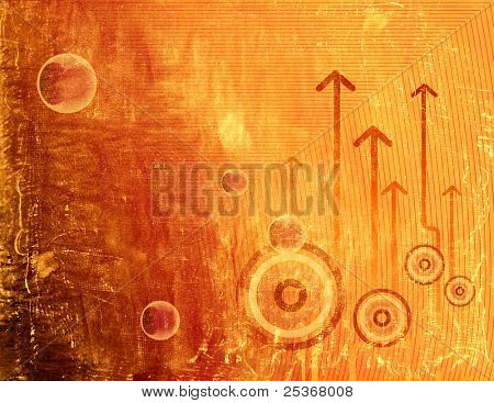 abstract composition- grunge background