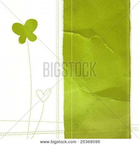 Grünbuch zur abstrakten Hintergrund