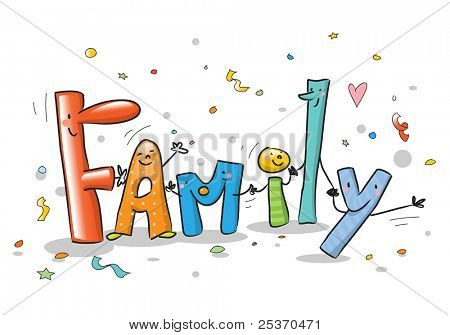 Wordings Word Family With Funny