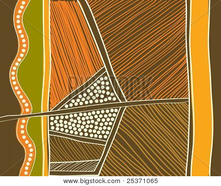 aboriginal abstract background, australian art style