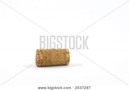Wine Cork On Side