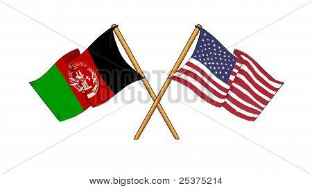 American And Afghan Alliance And Friendship