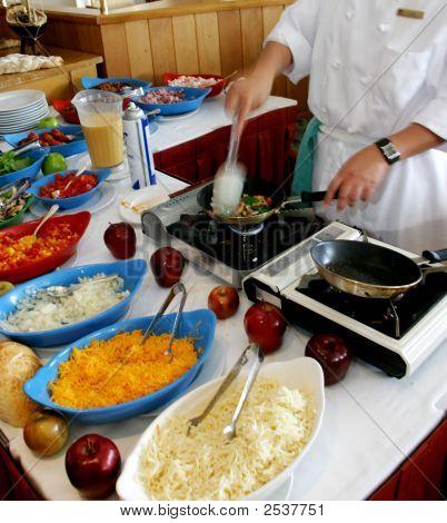 Vorbereitung der Eier
