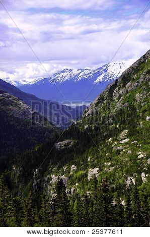 View Of Skagway Alaska