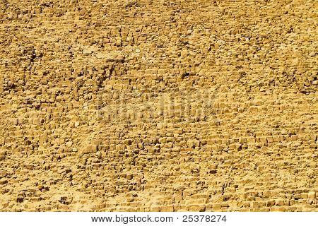 Pyramide Khafre Wall