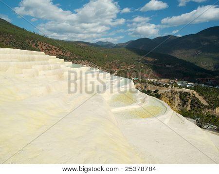 White Water Terrace Baishuitai