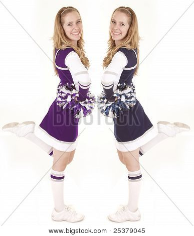 Cheerleader Side Leg Up