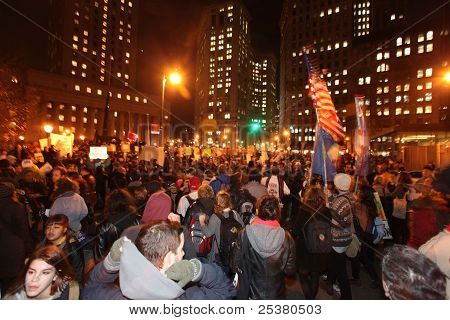 Muster at Foley Square