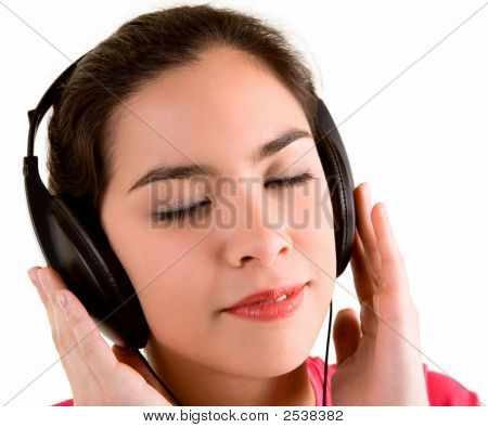 Musikhören mit Kopfhörern