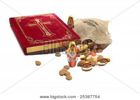 St. Nicholas Book With Sweets