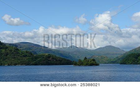 Idyllic Loch Lomond