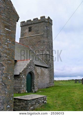 Church In Tintagel